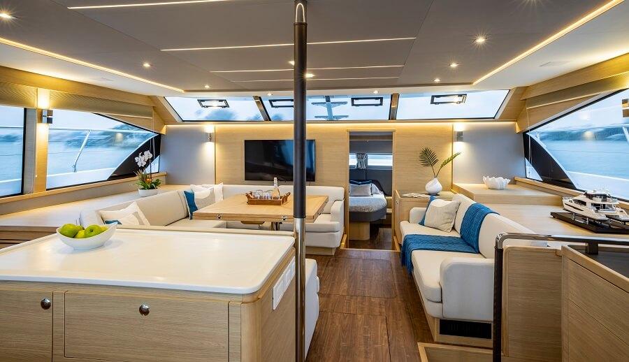 Aquila, 54, MarineMax, Sino Eagle, catamaran, power, powercat, multihull, popular, Asia, Thailand