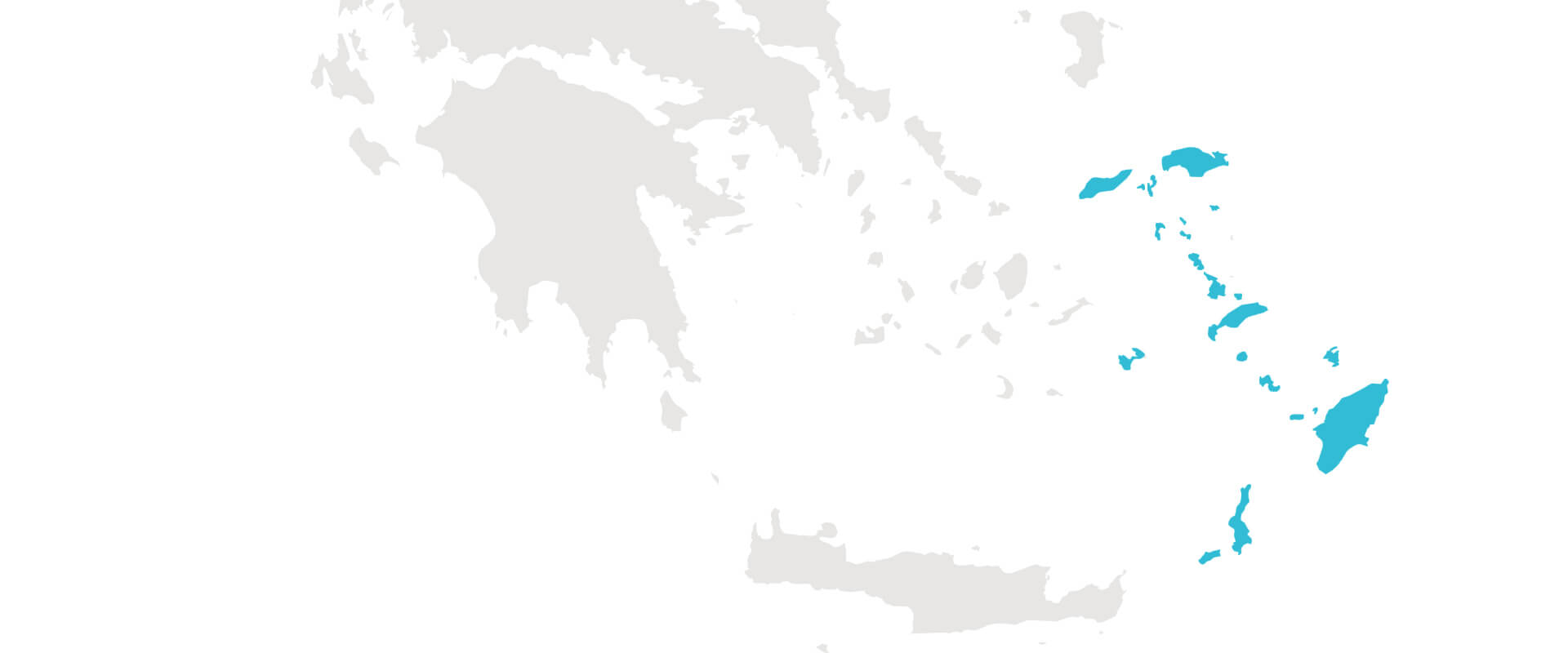 dodecanese islands choose greece for summer vacation map