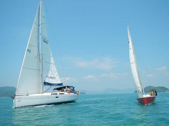 SIA Yachts in tandem