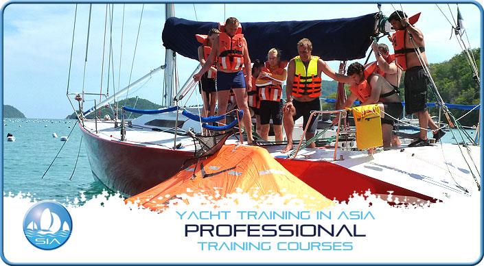 Professional yacht training courses in Phuket