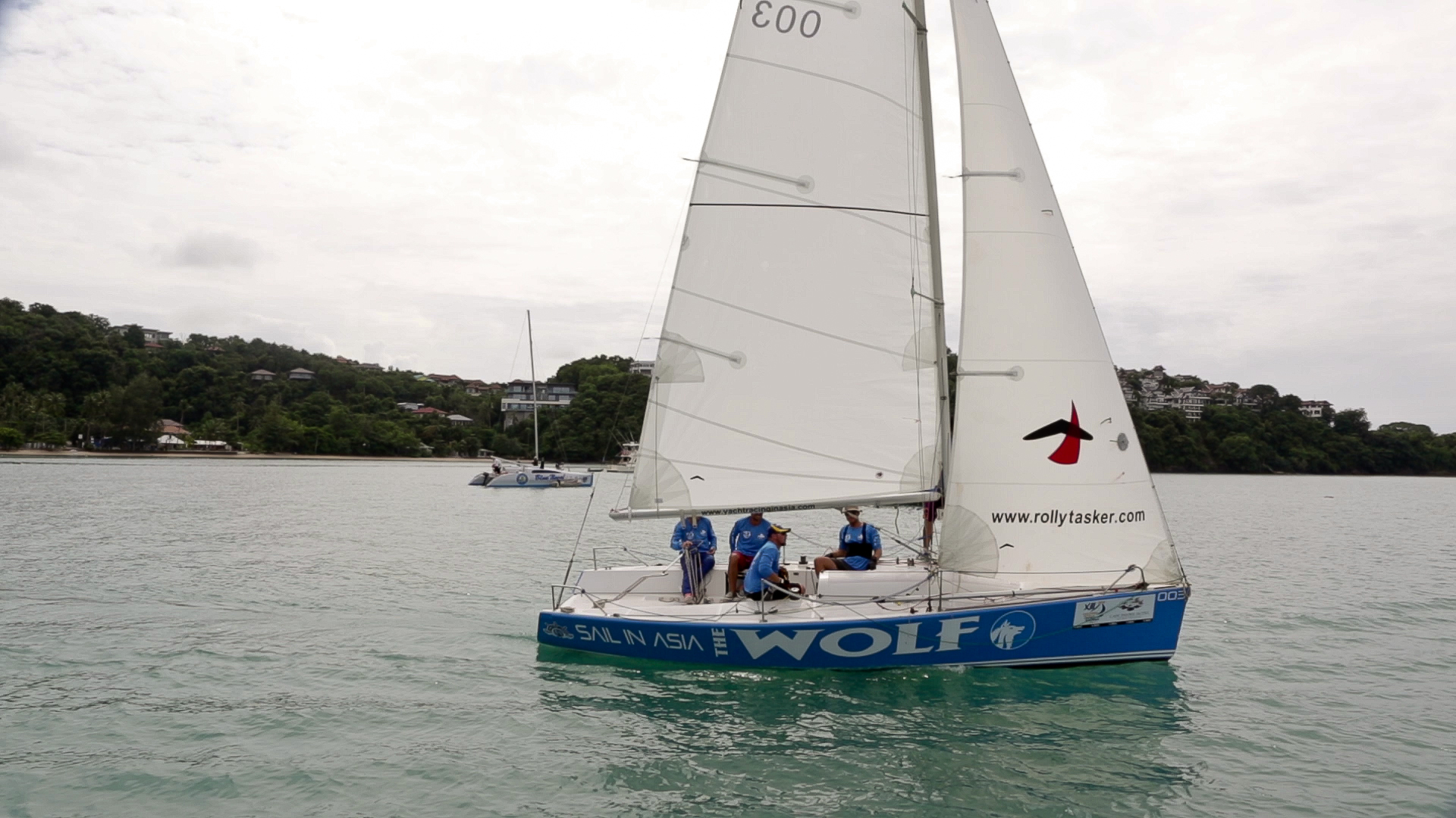 SAIL IN ASIA - keelboat