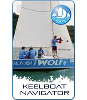 Keelboat navigator course