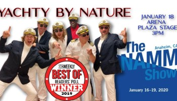 yacht rock review namm show 2020 soft rock captains of smooth oc weekly best live cover band cruise bands band music