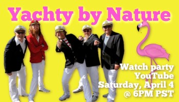 Sail on with southern california yacht rock band yachty by nature for the pandemic and covid 19 we are the cure for the pandemic smooth captains