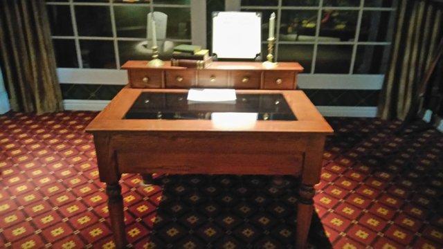 リンカーンの机