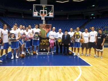 נבחרת ישראל בכדורסל משיקה את הפרוייקט