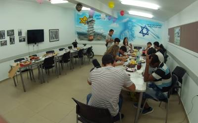 Graduation party for students with special needs