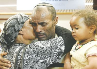 27.000 Immigranten haben ihren Fuß auf israelischem Boden gesetzt