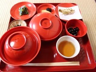 The Red bean porridge