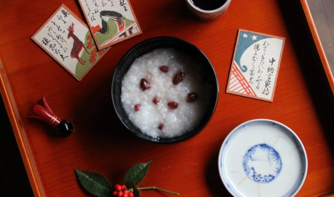 Azuki porridge