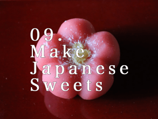 09. Make Japanese Sweets