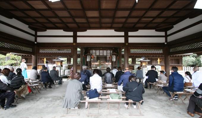 [第5回]神社清掃奉仕 奈良 奈良縣護國神社