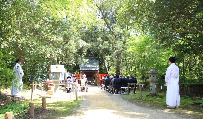 [4月20日]京都 上賀茂神社末社 半木神社 春祭