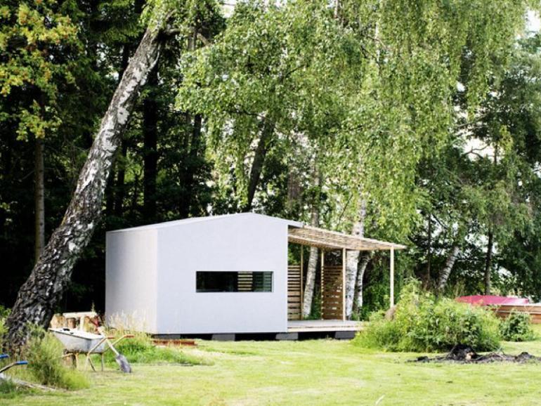 制作時間48時間!DIY組立式住宅「Mini House」