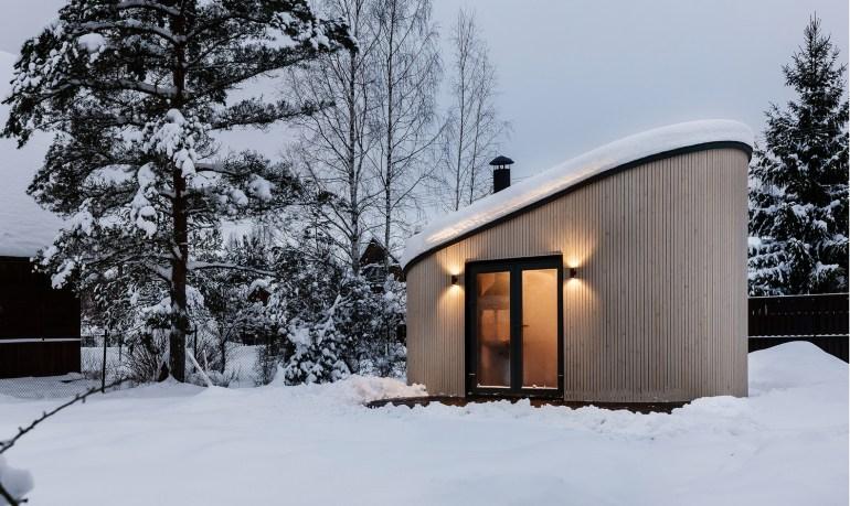 スカンジナビア伝統のBBQハウスをスモールハウスに「FLEXSE」