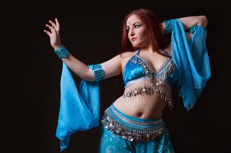 Portrait : Laure, Belly dancer
