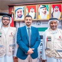 ممثل الهلال  الإماراتي يلتقي محافظ عدن