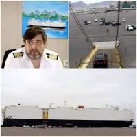 قبطان الباخرة العملاقة (باساما) يشيد بخبرات الكوادر والتسهيلات التي يقدمها ميناء عدن