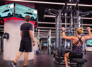 Val Morgan is about to reactivate 4000 digital screens in gyms - AdNews