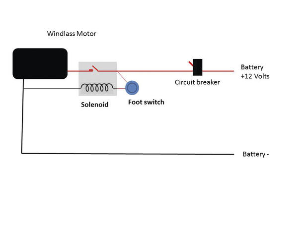 Windlass Wiring Diagram
