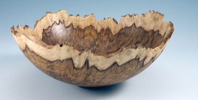 How To Turn A Burl Bowl