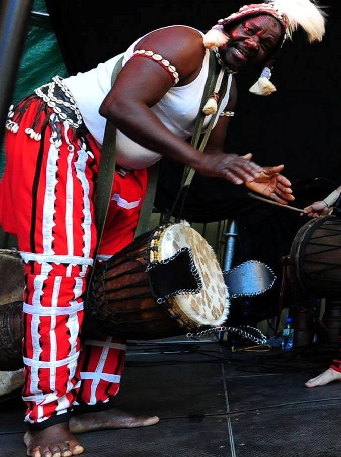 DJembe Drum = Cries   Laughs   Talks!!! - Chief Yagbe