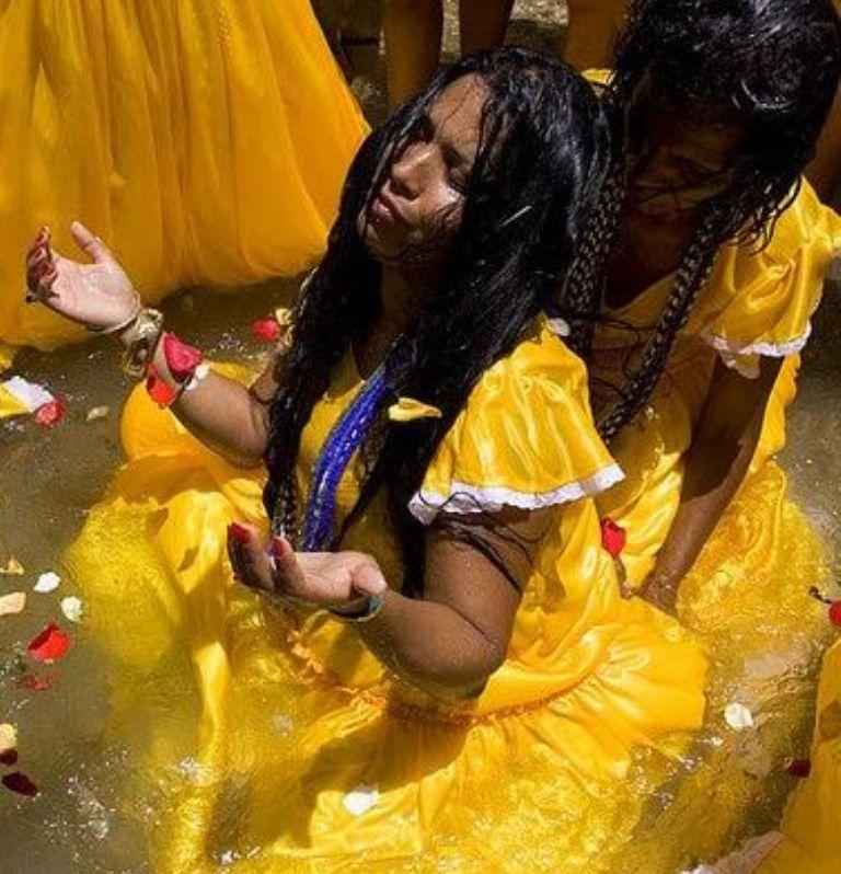 OSHUN = Goddess of Life    - Chief Yagbe Awolowo Onilu
