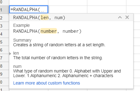 Google Apps Script – How to make a Custom Function to Use in Google Sheets