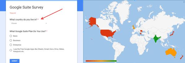 Geo Heatmap Google