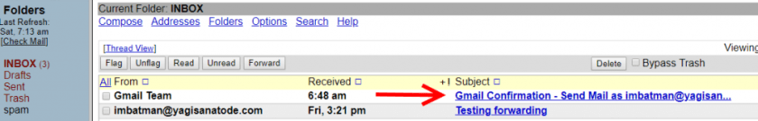 Gmail Team email