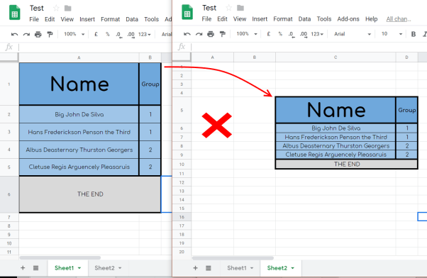 copy and paste Google Sheet maintain column width