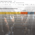 Google Sheets get last row with hidden formulas and checkboxes with GAS