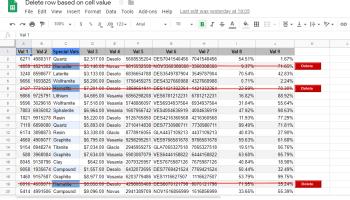 Google Apps Script: Get the last row of a data range when