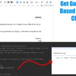 Google Apps Script: Get Google Doc Text Based on Reference Characters
