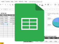 Google Sheets Homepage Button