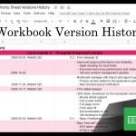 Google Sheets Beginners: Workbook Edit Version History (26)