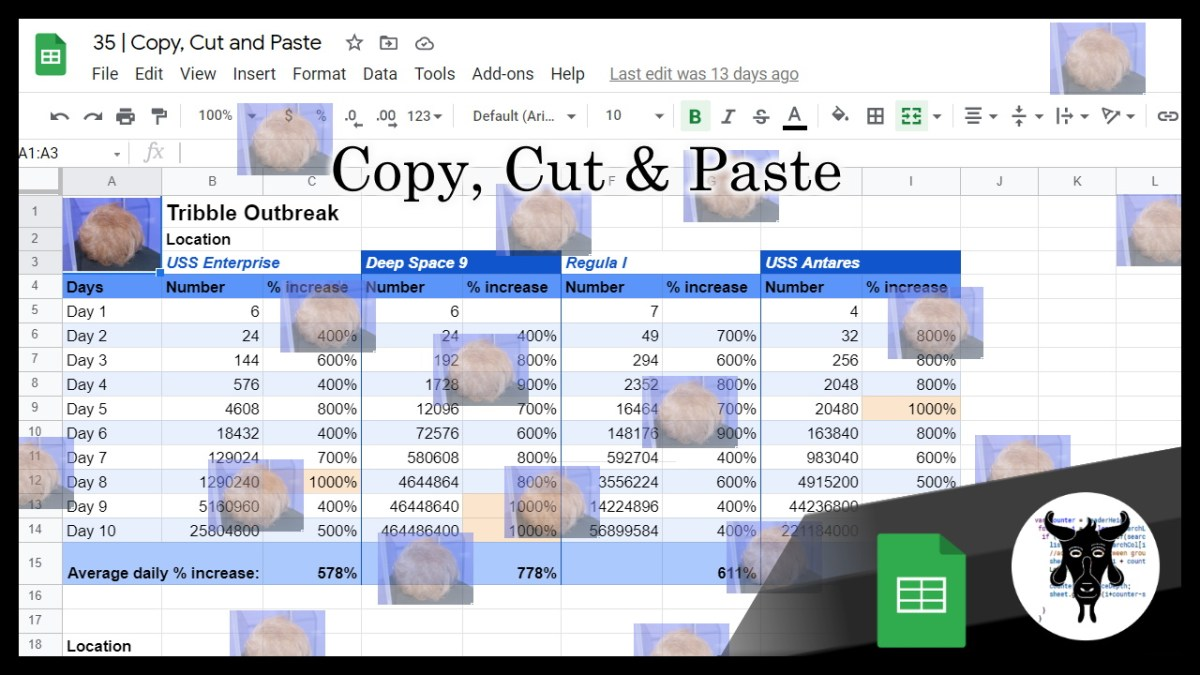Google Sheets Beginners: Cutting, Copying and Pasting ( + bonus complete guide) (35)