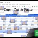 Copy cut n paste Google Sheets Tribbles