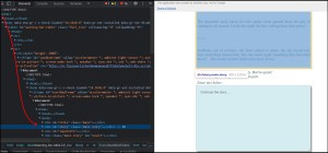Google Apps Script Web app chain story dom tree