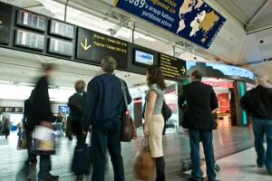 صورة من داخل مطار اسطنبول