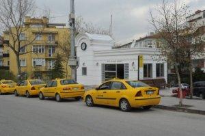 موقف لسيارات أجرة