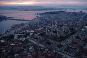 صورة توضح الجامع من الأعلى