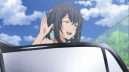 Yukinoshita Haruno (雪ノ下 陽乃) descends from limo. (Yahari Ore no Seishun Love Comedy wa Machigatteiru. Yahari Ore no Seishun Love Come wa Machigatteiru. Yahari Ore no Seishun Rabukome wa Machigatte Iru. Oregairu My Youth Romantic Comedy Is Wrong, as I Expected. My Teen Romantic Comedy SNAFU やはり俺の青春ラブコメはまちがっている。 俺ガイル 果然我的青春戀愛喜劇搞錯了。 ep 8)