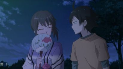 Hikigaya Hachiman (比企谷 八幡) realizes the terror of Yukinoshita Haruno (雪ノ下 陽乃)'s mother. (Yahari Ore no Seishun Love Comedy wa Machigatteiru. Yahari Ore no Seishun Love Come wa Machigatteiru. Yahari Ore no Seishun Rabukome wa Machigatte Iru. Oregairu My Youth Romantic Comedy Is Wrong, as I Expected. My Teen Romantic Comedy SNAFU やはり俺の青春ラブコメはまちがっている。 俺ガイル 果然我的青春戀愛喜劇搞錯了。 ep 9)