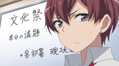 Sagami Minami (相模 南)'s hatred toward Yukinoshita Yukino (雪ノ下 雪乃) is increasing. (Yahari Ore no Seishun Love Comedy wa Machigatteiru. Yahari Ore no Seishun Love Come wa Machigatteiru. Yahari Ore no Seishun Rabukome wa Machigatte Iru. Oregairu My Youth Romantic Comedy Is Wrong, as I Expected. My Teen Romantic Comedy SNAFU やはり俺の青春ラブコメはまちがっている。 俺ガイル 果然我的青春戀愛喜劇搞錯了。 anime ep 10)