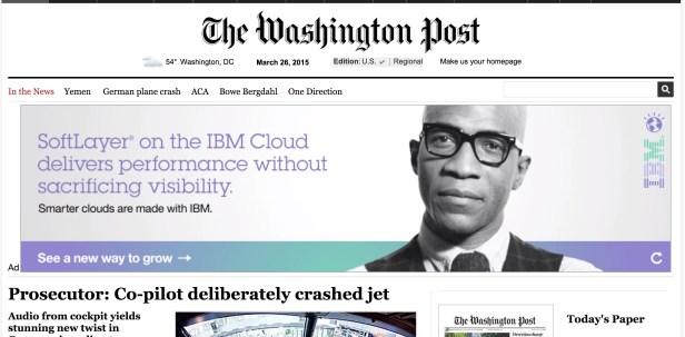 Yah Supreme Washington Post Banner Ad