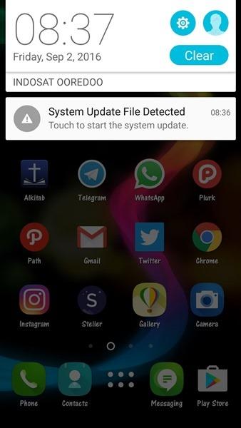 Manually Update Asus ZenFone 2 ZE550ML/ ZE551ML... - Techtrickz