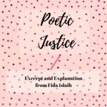 Poetic Justice: Excerpt and Explanation From Fida Islaih