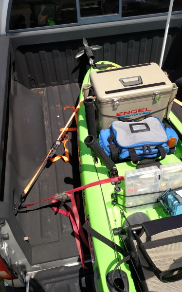 How To Tie Down A Kayak In A Truck Bed : kayak, truck, Getting, There, Extenders
