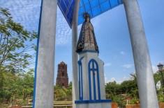 Apo Caridad and the Bantay Bell Tower at the back